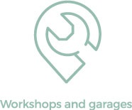 workshops and garages